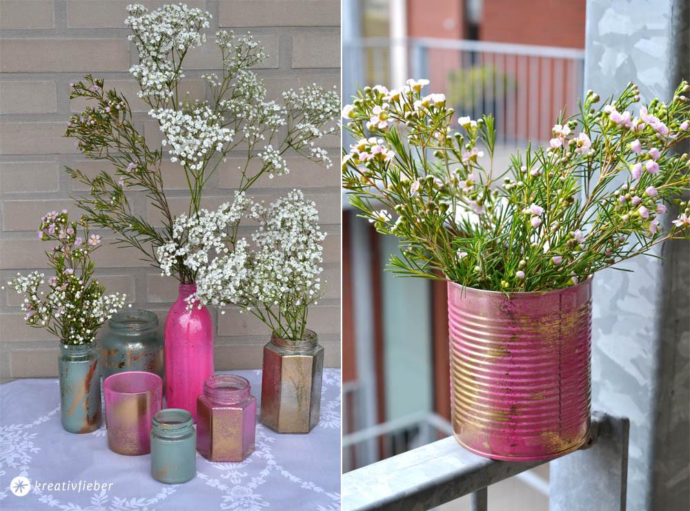 Diy Hochzeitsdeko  Hochzeitsblumendeko selbermachen DIY Tipps