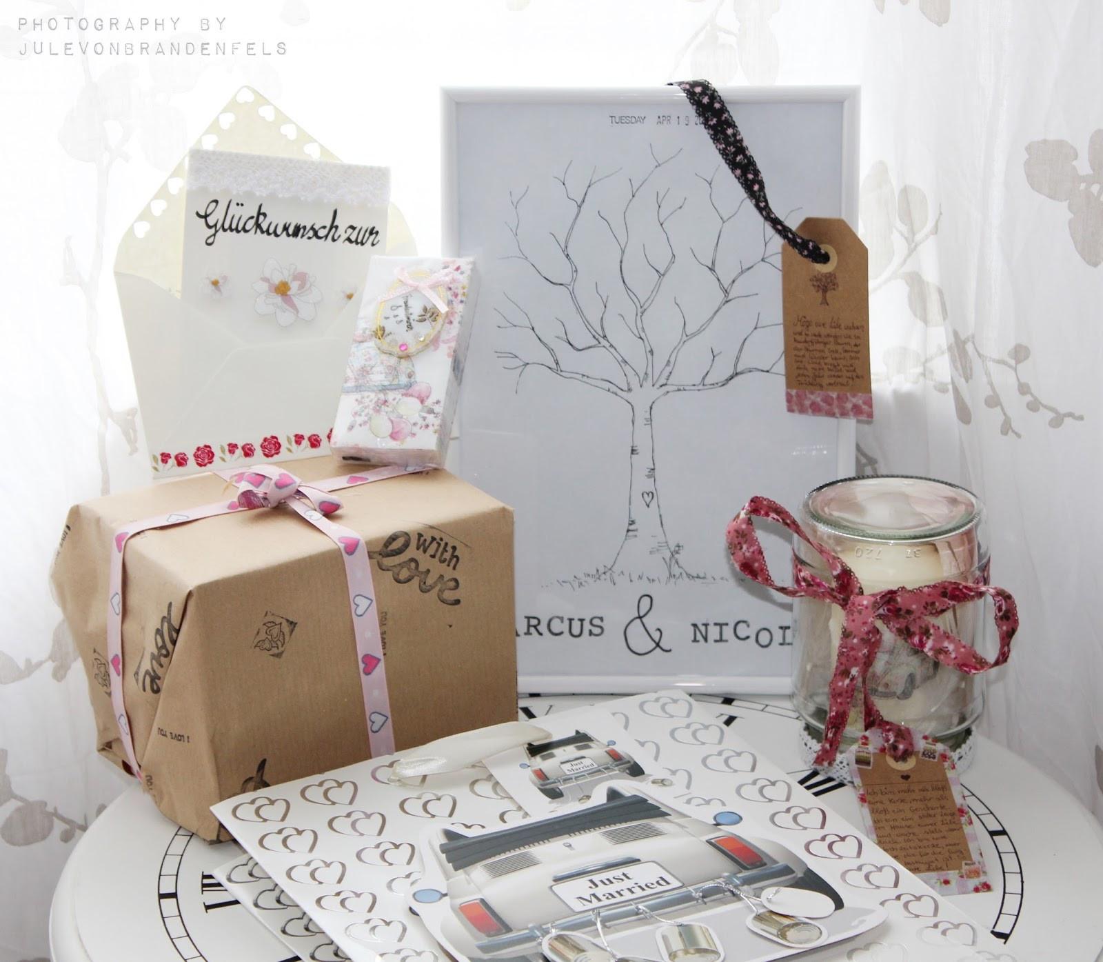Diy Hochzeitsgeschenke  Julchen s Lieblingsecke DIY Hochzeitsgeschenke