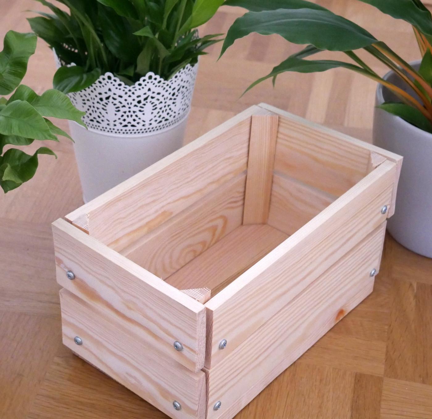 Diy Holzkiste  DIY Holzkiste – Basteltainment