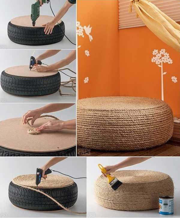Diy Home Ideas  34 Fantastic DIY Home Decor Ideas With Rope Amazing DIY