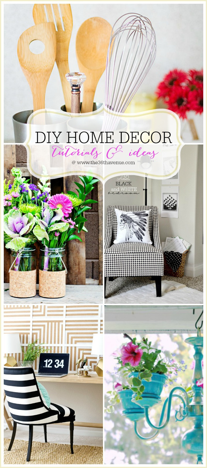 Diy Home Ideas  The 36th AVENUE Home Decor DIY Projects