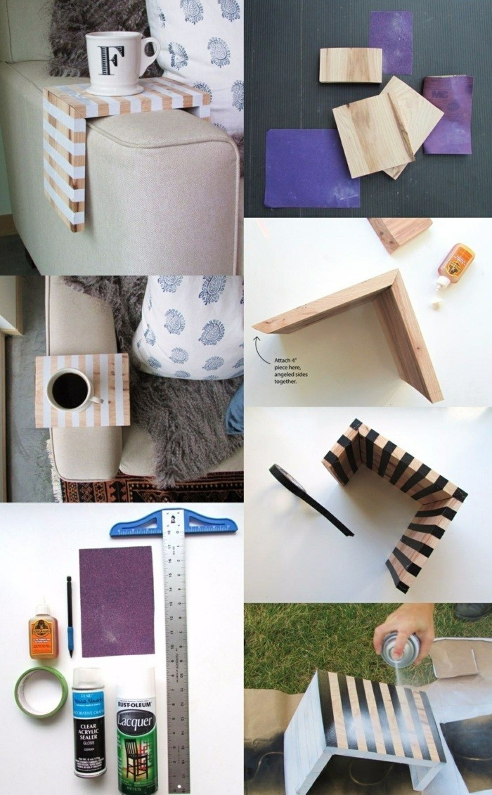 Diy Ideen Holz  DIY Ideen für Ihr Zuhause Die Kreativität kennt keine Grenzen