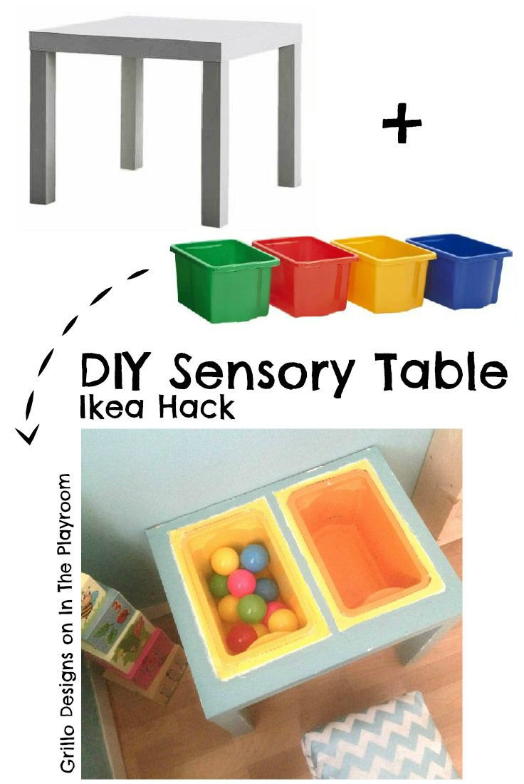 Diy Ikea Hacks  DIY Sensory Table Ikea Hack