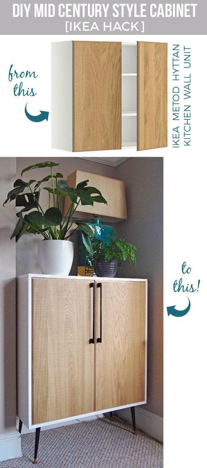 Diy Ikea Hacks  DIY cabinet [IKEA hack] Home Pinterest