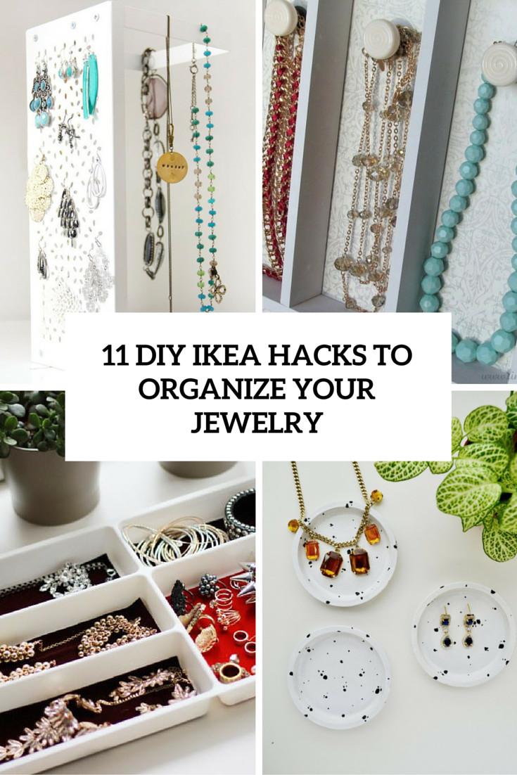 Diy Ikea Hacks  Jewellery Organizer Ikea House Beautiful House Beautiful