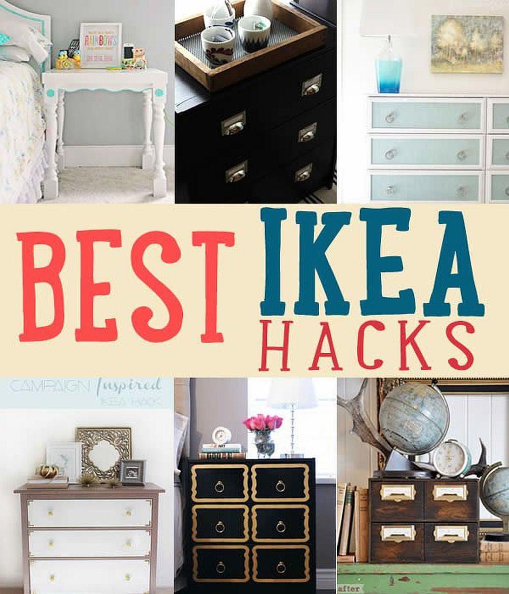 Diy Ikea Hacks  Home Improvement Hack Ideas DIY Projects Craft Ideas & How