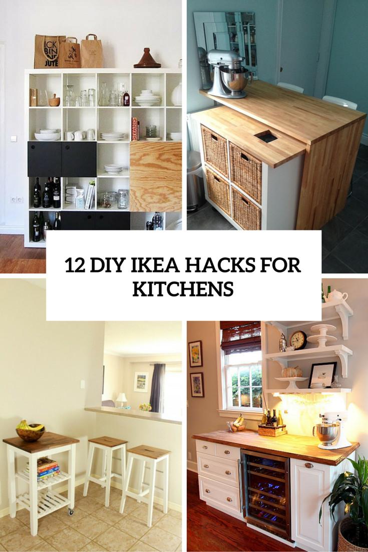 Diy Ikea Hacks  Diy Kitchen Island Ikea Cabinets – Nazarm