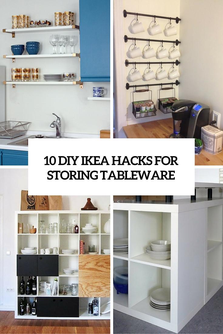 Diy Ikea Hacks  10 DIY IKEA Hacks For Storing Tableware In Your Kitchen