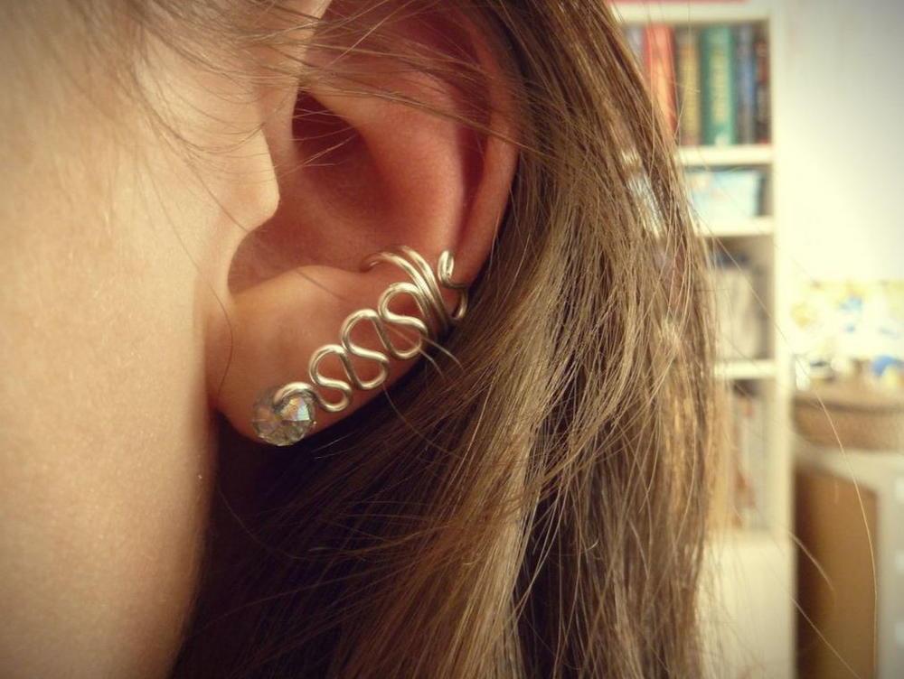 Diy In Ear  Hypnotic Crystal DIY Ear Cuff