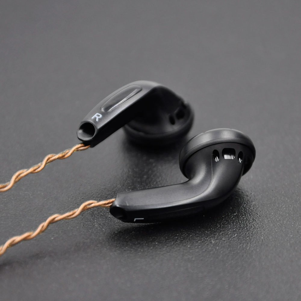 Diy In Ear  DIY EMX50 In ear Earphones Flat Head Plug Earphone HiFi
