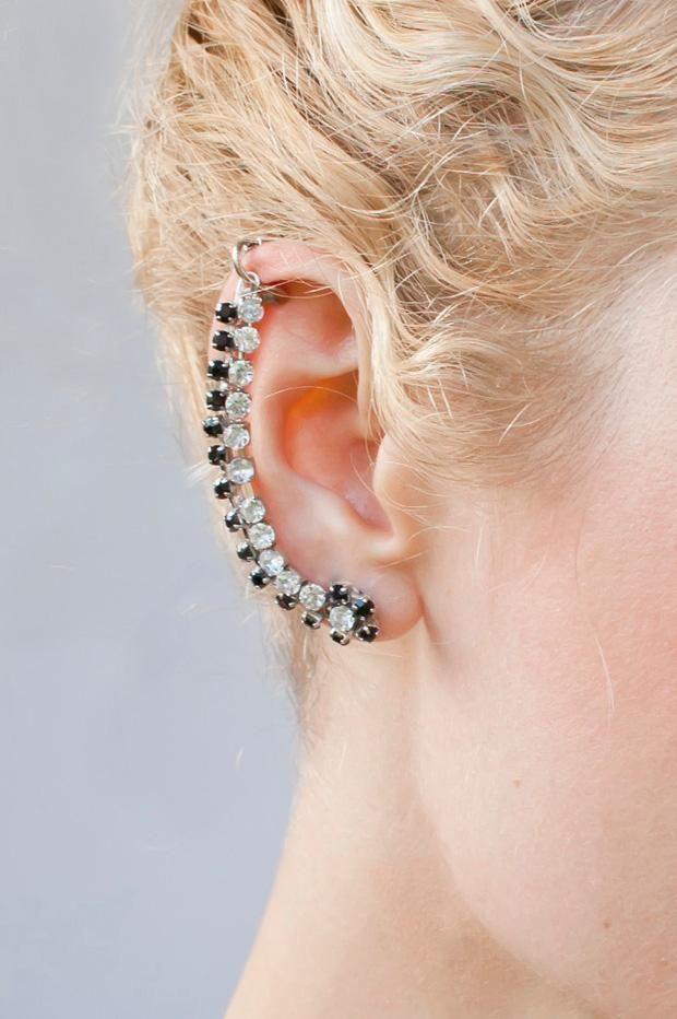Diy In Ear  DIY Jewelry DIY Rhinestone Ear Cuff DIY Earrings