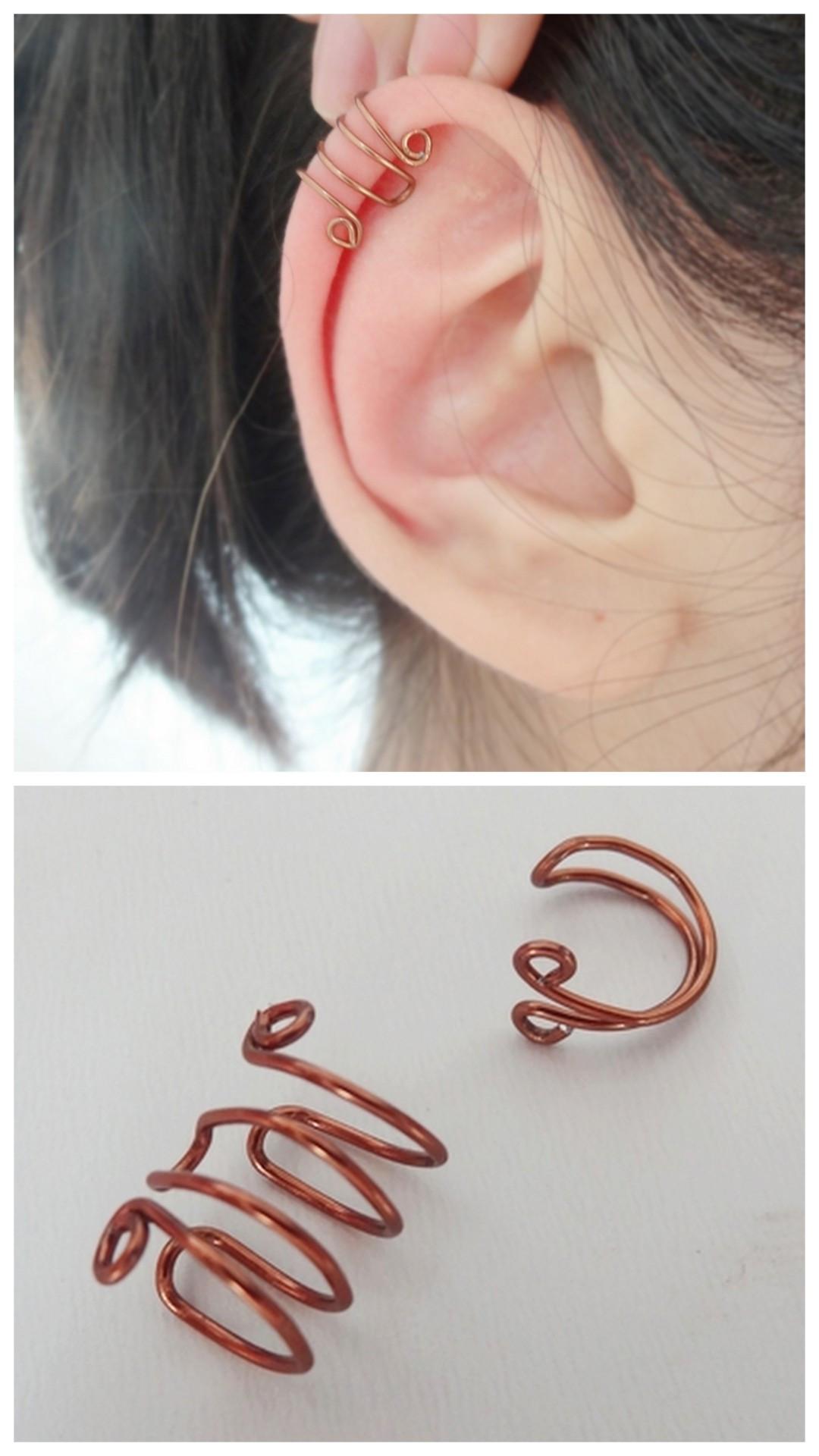 Diy In Ear  True Blue Me & You DIYs for Creatives • DIY Basic Wire