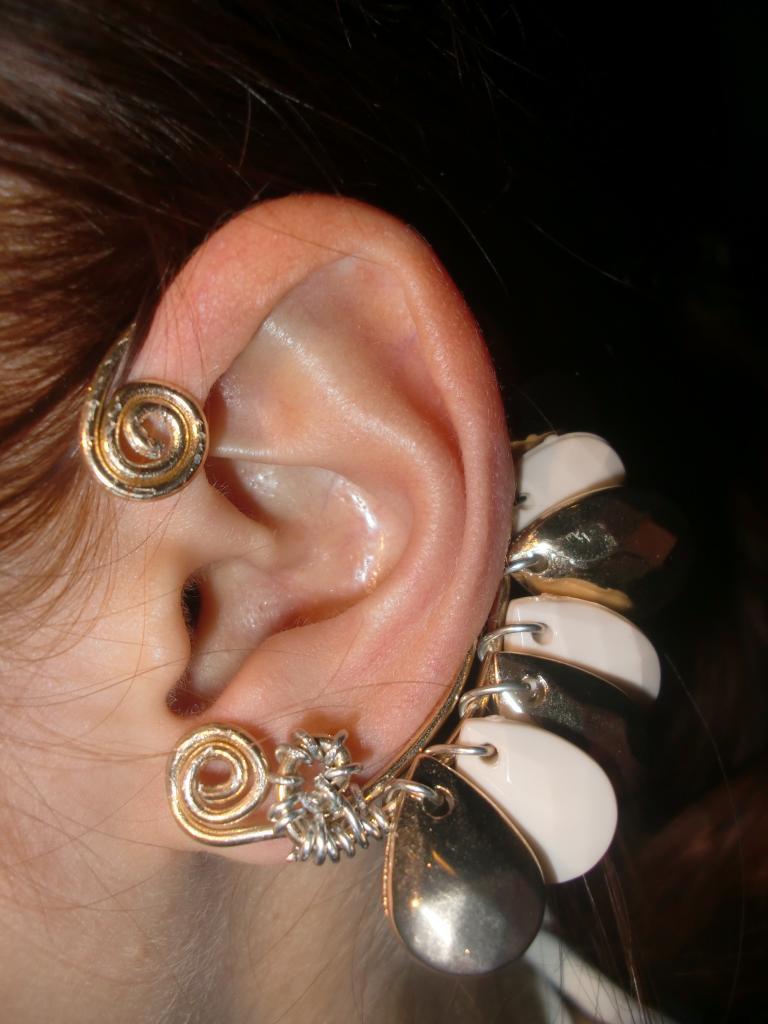 Diy In Ear  DIY – Ear Cuffs by La Kukita