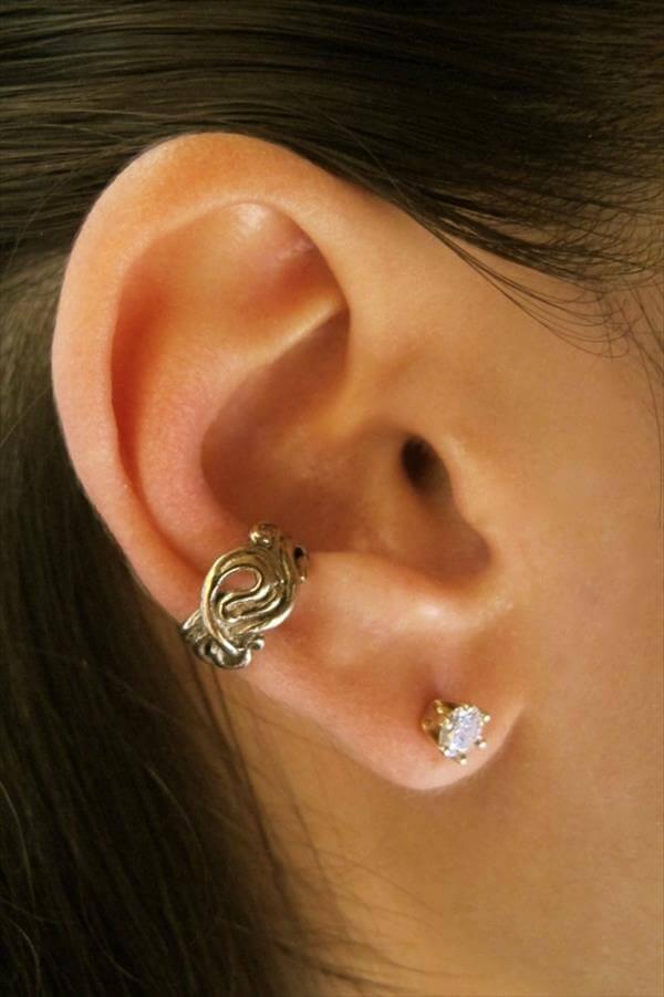 Diy In Ear  Beautiful DIY Ear Cuffs For Women s And Girls