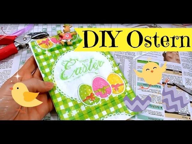 Diy Inspiration Basteln  Basteln zu Ostern DIY Inspiration mit Serviettentechnik