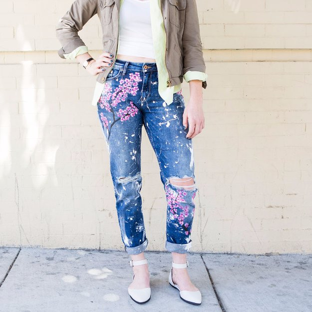 Diy Jeans  30 Awesome DIY Ways To Transform Your Jeans
