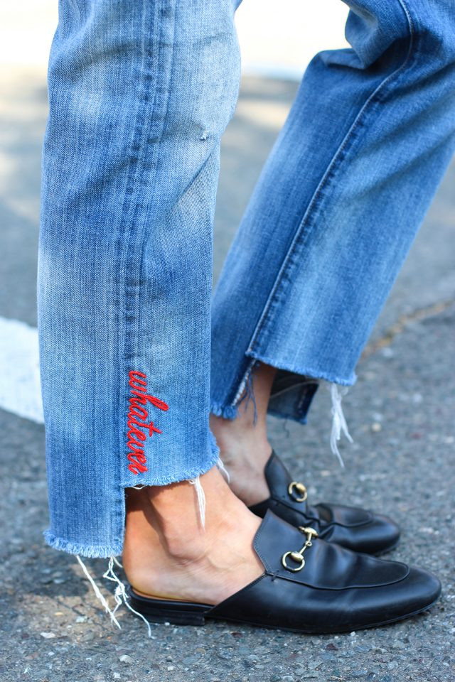 Diy Jeans  DIY Denim Embroidery