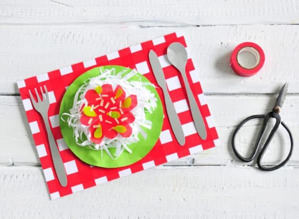 Diy Karte  DIY 3D Spaghetti Karte HANDMADE Kultur
