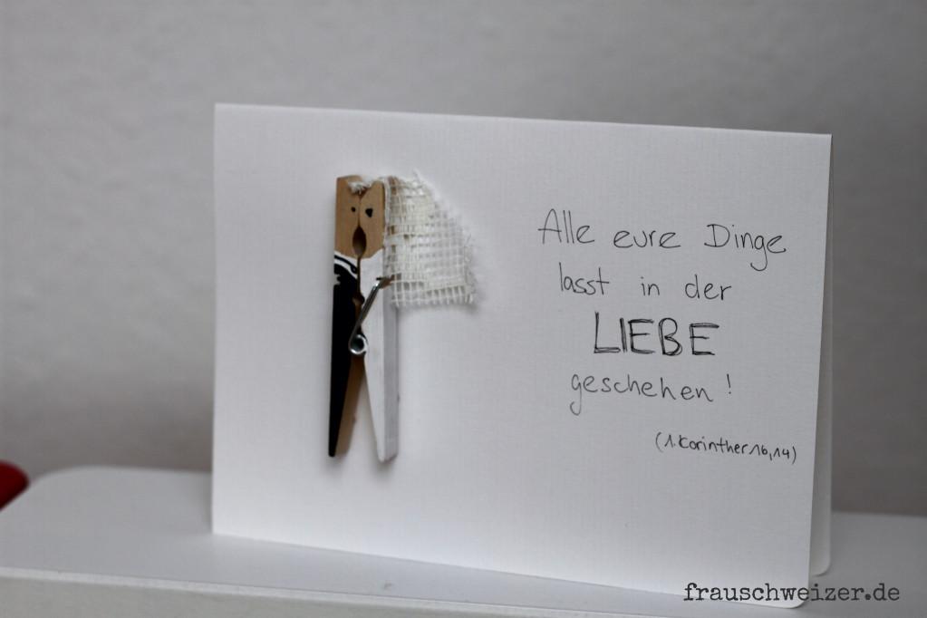 Diy Karte  Handgemachte Karten zum Nachbasteln von FrauSchweizer