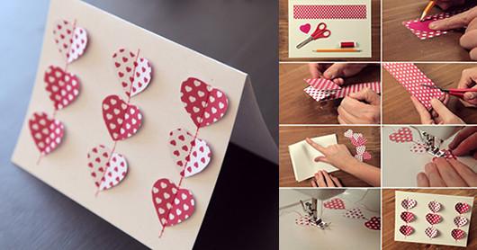 Diy Karte  DIY valentinstag karte fresHouse