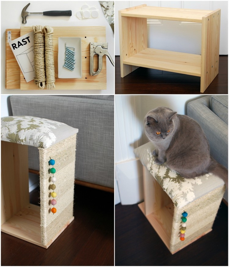 Diy Katzen  DIY Ideen und spannende Projekte für kreative Kratzmöbel