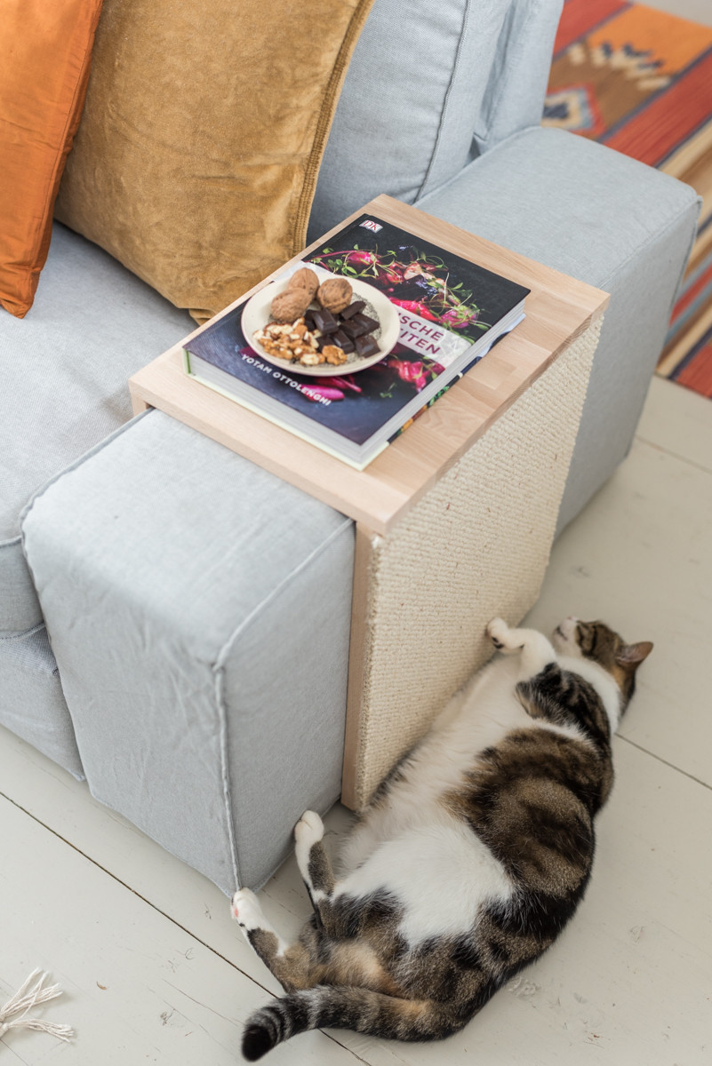 Diy Katzen  DIY Katzen Kratztisch Couchtisch und Kratzmöbel