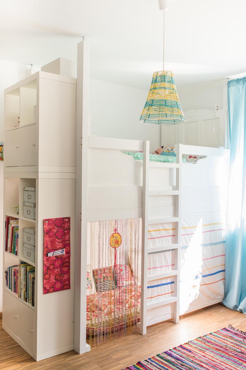 Diy Kinderzimmer Deko  Ein selbst gebautes Hochbett im Kinderzimmer Leelah Loves