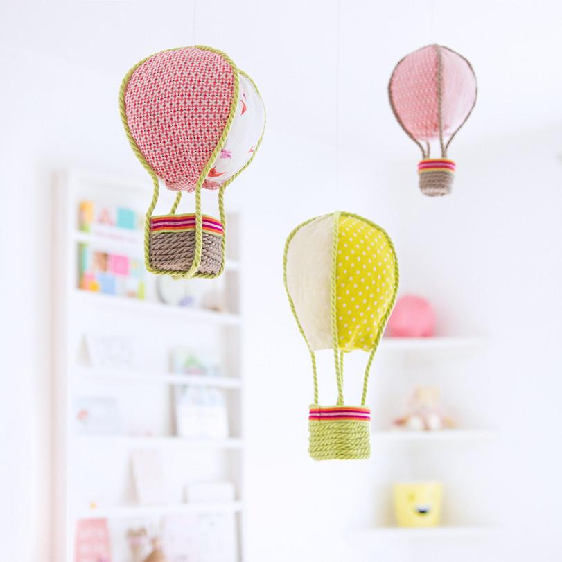 Diy Kinderzimmer Deko  DIY Deko Ballons fürs Kinderzimmer nähen •