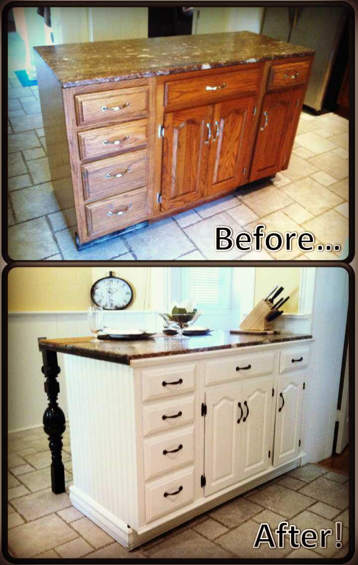 Diy Kitchens  DIY Kitchen Island Renovation