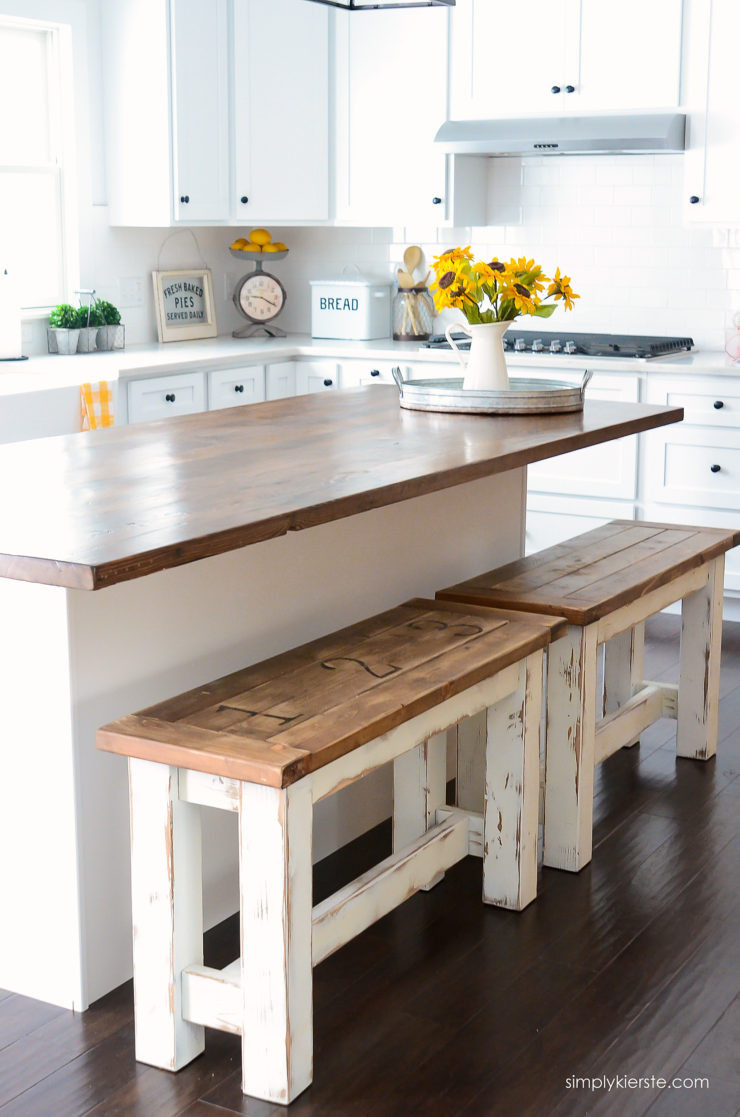 Diy Kitchens  DIY Kitchen Benches Simply Kierste Design Co