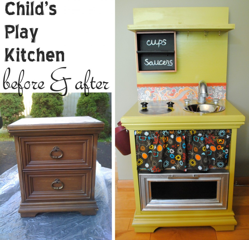 Diy Kitchens  I m Dreaming of a DIY Play Kitchen Creative Green