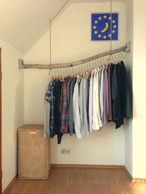 Diy Kleiderstange  Upcycling Einfache Treibholz DIY Ideen Kleiner Elefant