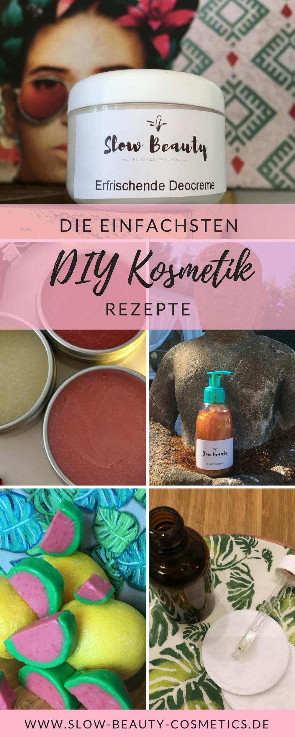 Diy Kosmetik  DIY Naturkosmetik Rezepte