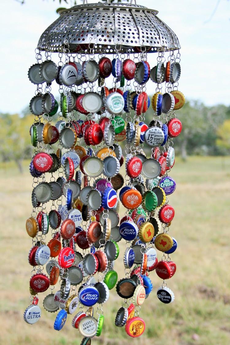 Diy Kronkorken  Basteln mit Kronkorken 20 tolle Recycling Ideen für Groß