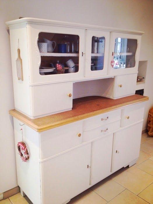 Diy Küchenschrank  Küchenbuffet DIY aus alt mach neu
