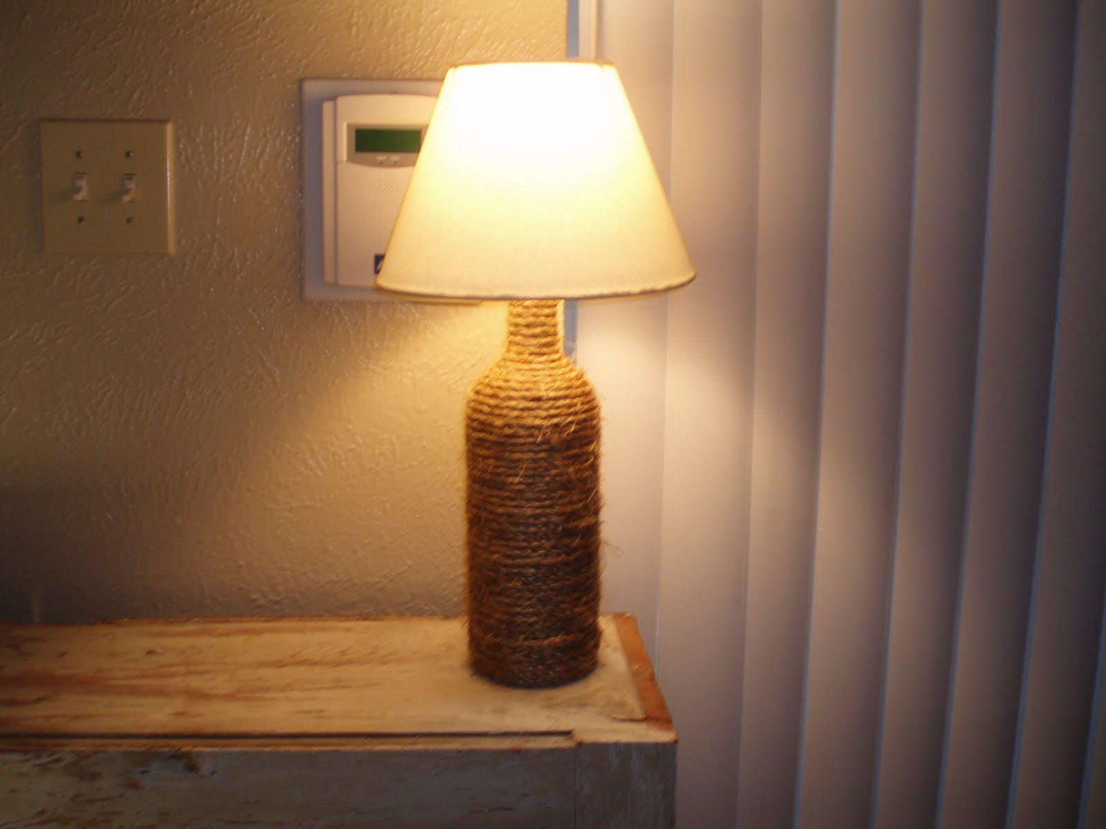 Diy Lamp  12 Ways to Make a Wine Bottle Lamp