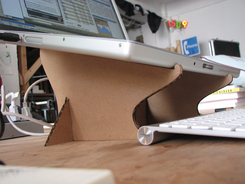 Diy Laptop Stand  How to make a DIY cardboard laptop stand