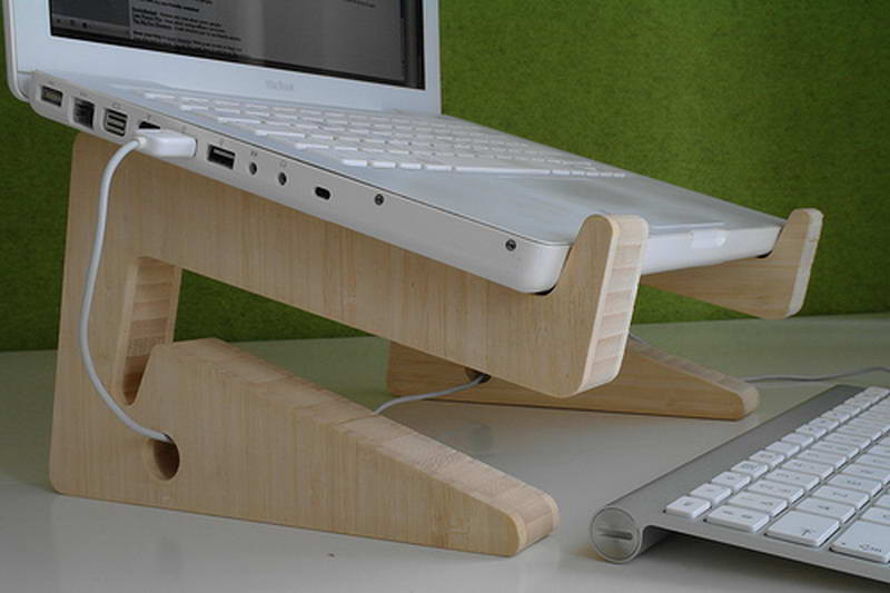 Diy Laptop Stand  Bloombety Diy Laptop Stand With Fine Wood Material DIY