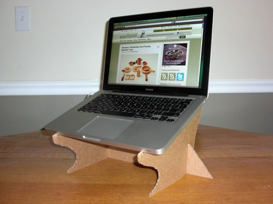 Diy Laptop Stand  7 FREE & Amazing Cardboard DIY Projects That Will Save You