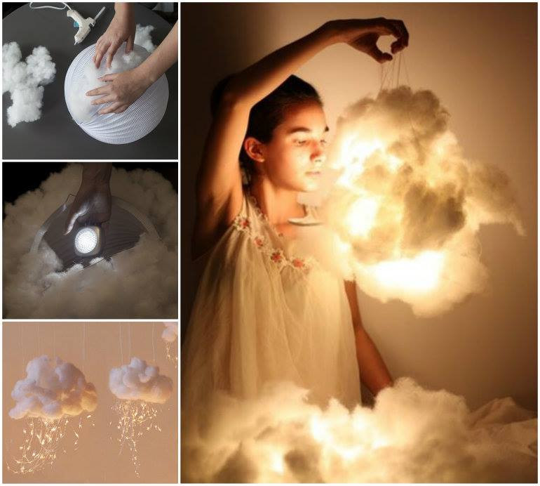 Diy Led  3 Cool Tutorials How to Make a Cloud at Home Its So Cool