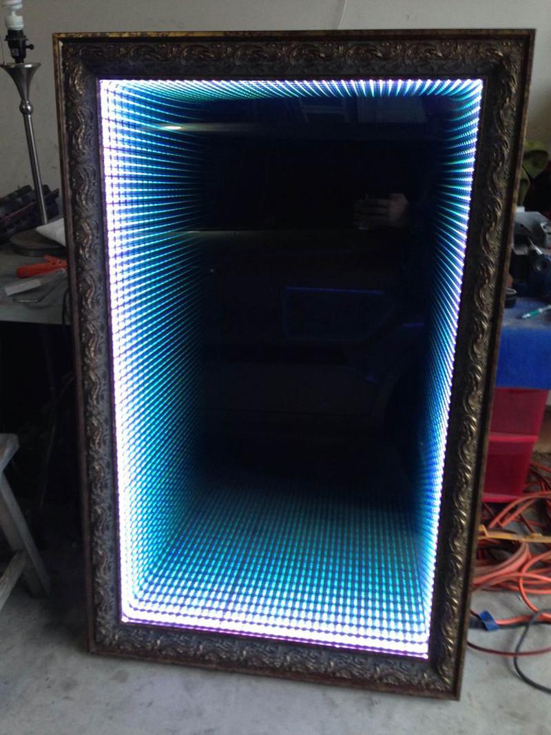Diy Led  How to Make Infinity LED Mirror DIY & Crafts Handimania