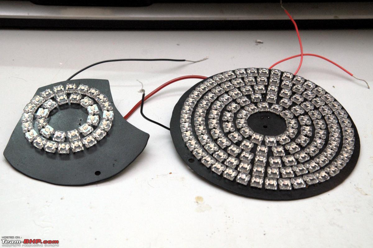 Diy Led  DIY LED Tail lights on my Fiat Linea T Jet Team BHP