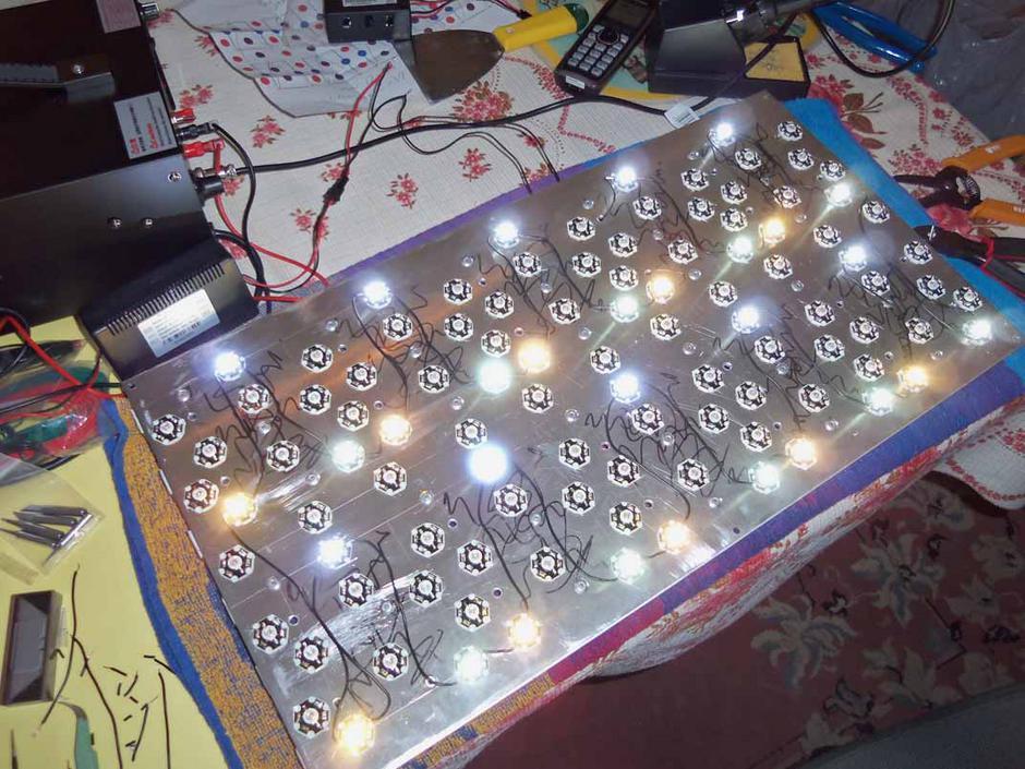 Diy Led Grow Light  My DIY LED grow light Page 3 LED Grow Lights