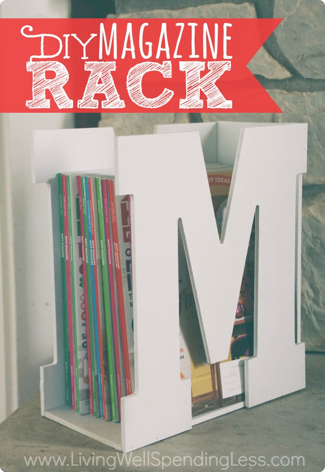 Diy Magazine  DiY Magazine Rack