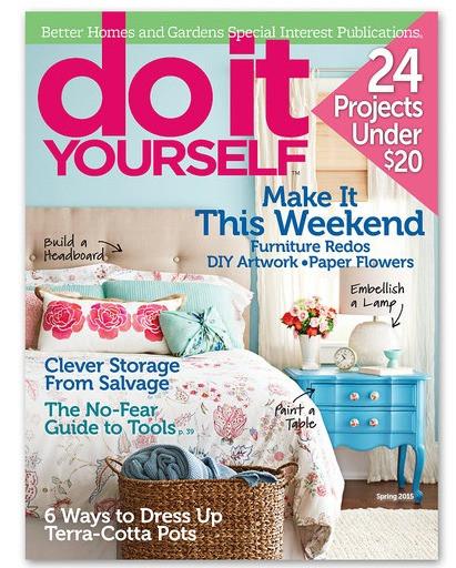 Diy Magazine  Do It Yourself Magazine Subscription $9 99 2 Years