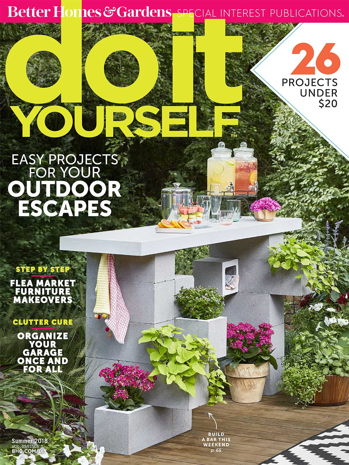 Diy Magazine  Do It Yourself Magazine Easy Projects for Your Outdoor