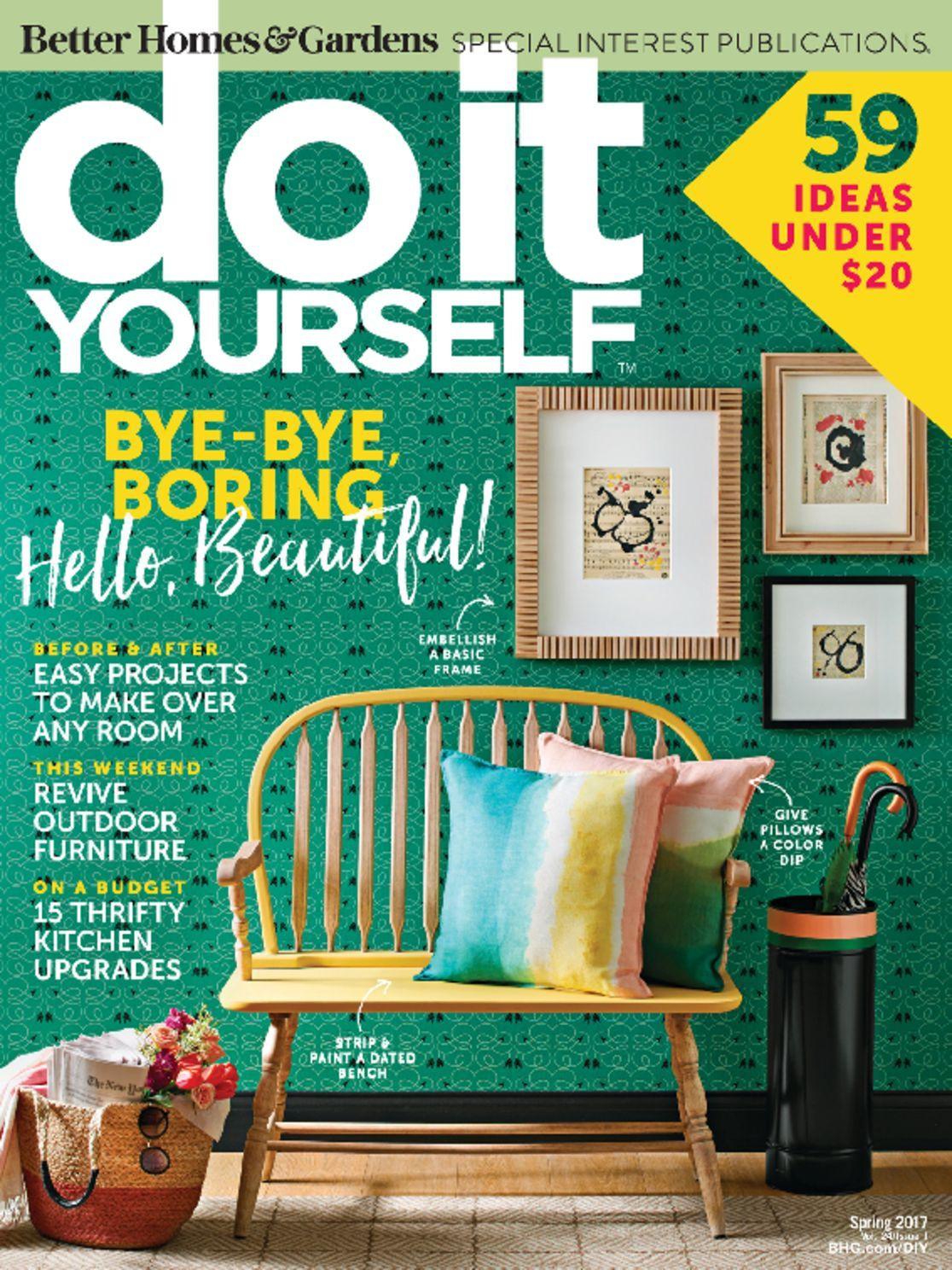 Diy Magazine  Do It Yourself Magazine DiscountMags