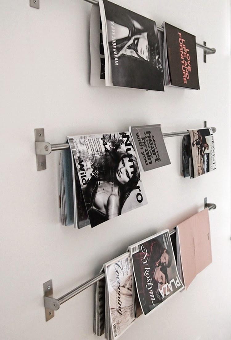 Diy Magazine  DIY Monday Magazine storage Ohoh Blog