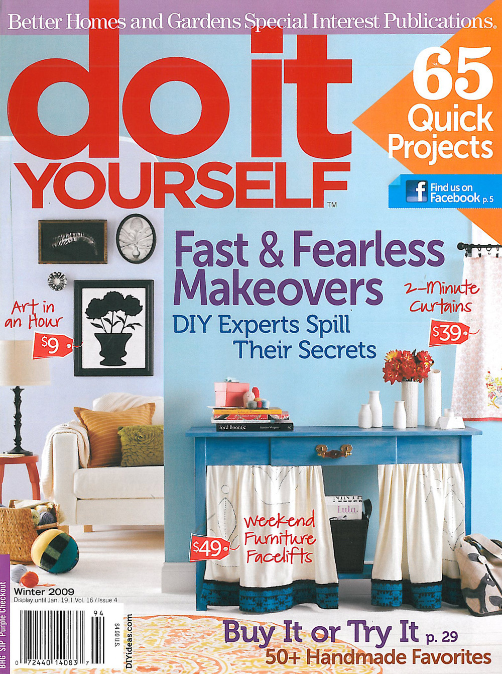 Diy Magazine  Who Wants a Subscription to DIY magazine