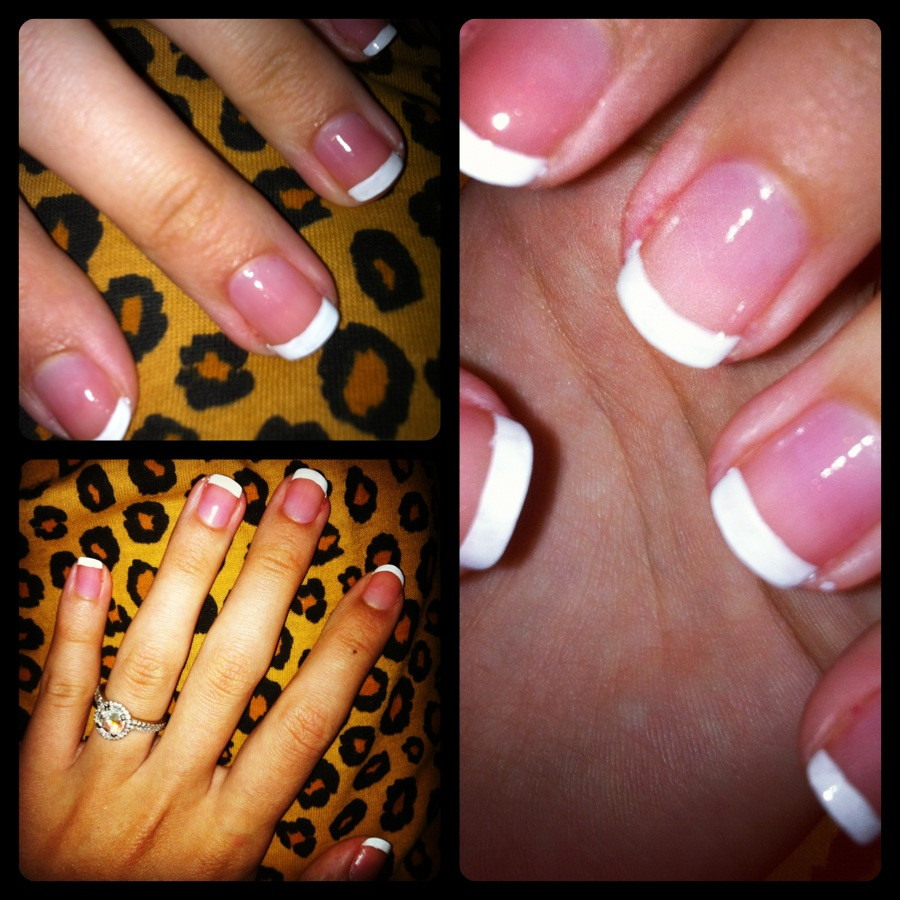 Diy Maniküre  My secret to a perfect DIY french manicure – Champagne